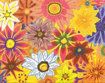 Treasure Flowers ORIGINAL INKS
