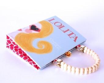 Book Purse Handbag- Lolita