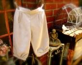 tan/ivory sand size 7-9 years knicker pants,newspaper boy pants , boys knicker pants, ringbearer outfit , SIZE  SIZE 7-9 years