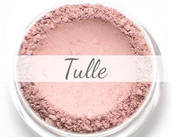 """Eyeshadow Sample - """"Tulle"""" - matte light ballet pink color (Vegan) Mineral Makeup Pigment"""