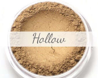 "Mineral Contour Bronzer Powder Sample - ""Hollow"" (taupe light brown, matte finish) - Vegan"