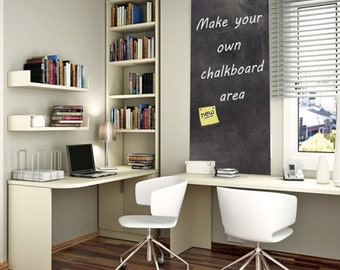 how to make a blackboard wall