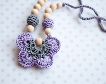 Butterfly nursing necklace  - Wrap Baby Carrier Sling