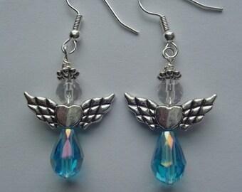 Angel Pierced Earrings
