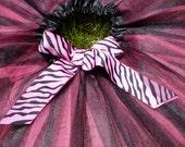 Hot Pink Tutu, no bow