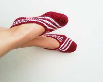 Claret red Healthy Booties Home slippers Dance classic yoga sexy hygienic light Naturel yoga,socks,halloween