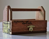 Wooden Tool Box-Miniature-Altered Cigar Box