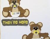 Custom Made for Karen - Twin Bears - They're Here