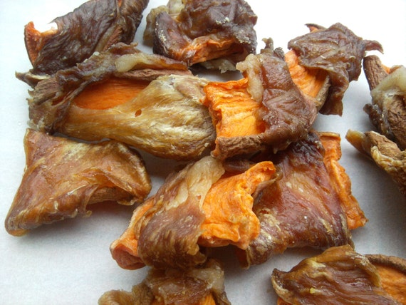 Bacon Wrapped Sweet Potatoes for Dogs All Natural Wheat Free Gluten Free Dog Treat, Does Not Smell Like a Bully Stick Bow-Wowies