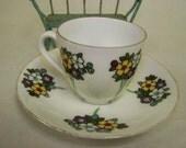 Bavaria Cup Saucer Daisy Flower Cup & Saucer Bavaria Daisy Cup