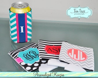 Personalized Can Coozies, DIY Custom Can Coozie