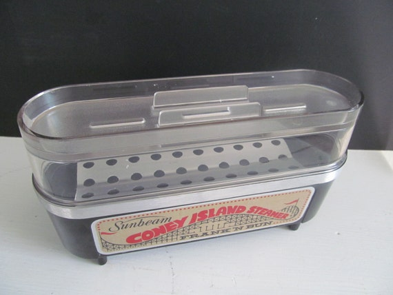 Hot Dog Steamer With Bun Steamer