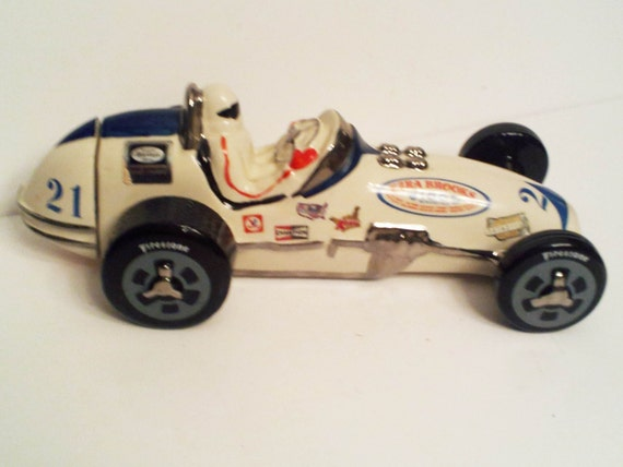 Ezra Brooks 1971 STP Sprint Race Car Decanter