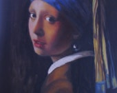 The Girl With the Pearl Earring after Vermeer