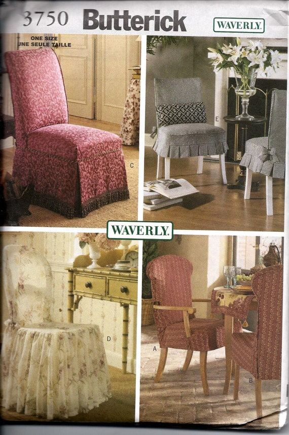 Waverly Chair Slipcovers Chair Covers Slip Covers Butterick