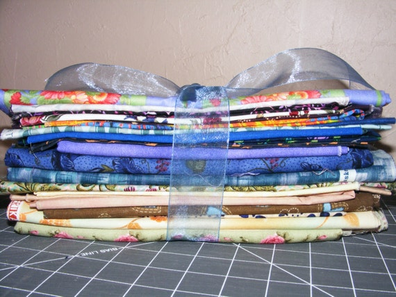 Scrap Bundle - lots of fabric