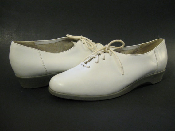 white work shoes oxford shoes women shoes girl students lolita shoes Free Shipping
