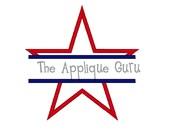 Split Star Applique Machine Embroidery Design