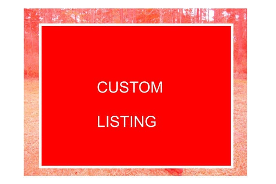 CUSTOM LISTING For NELLY