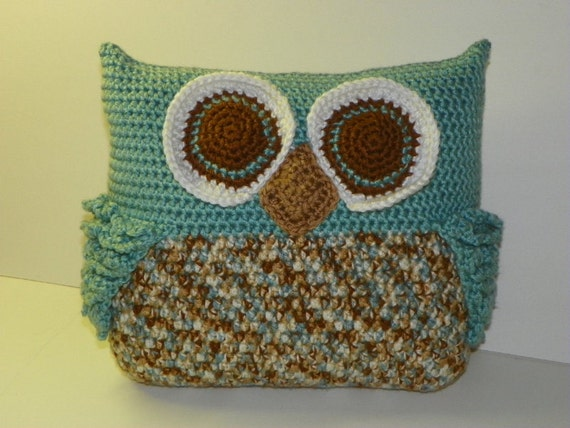 Owl Throw Pillow Etsy : Owl Throw Pillow pattern pdf