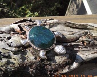 Emerald Turtle pendant