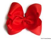 Big hair bow,  boutique hair bow, big hair bows, jumbo hair bow, girls, infants, toddlers, baby hairbow, Hair bows, Hair bow