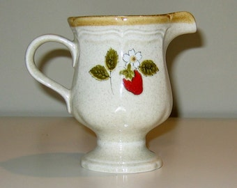 Vintage Mikasa Garden Club EB802 Strawberry Festival Creamer