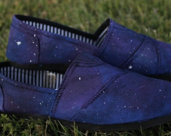 Galaxy Hand Painted Shoes