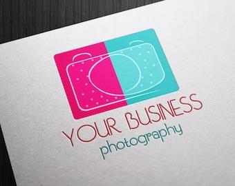 Photography Premade Logo Design Custom Camera for Photographers