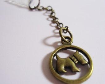 Kawaii Dog chain Earphone plug. Handmade