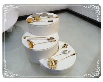 Vintage Lot of Stick Pins - 8 Stickpins - 1853a-121812000