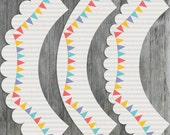 Carnival Circus Printable Cupcake Wrappers - Digital File, Printable, DIY