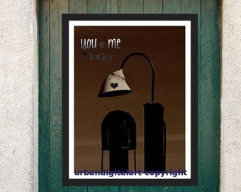 You and Me Baby-LOW COST-Downloadable Fine Art  Print-Will look Beautiful On Any Wall At Home Or The Office