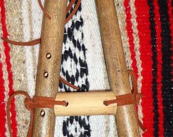 Native American River Cane Drone Flute