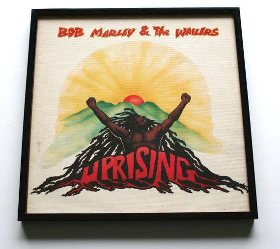 FRAMED Bob Marley and The Wailers UPRISING Album by Abbazappa