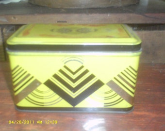 ART DECO TIN