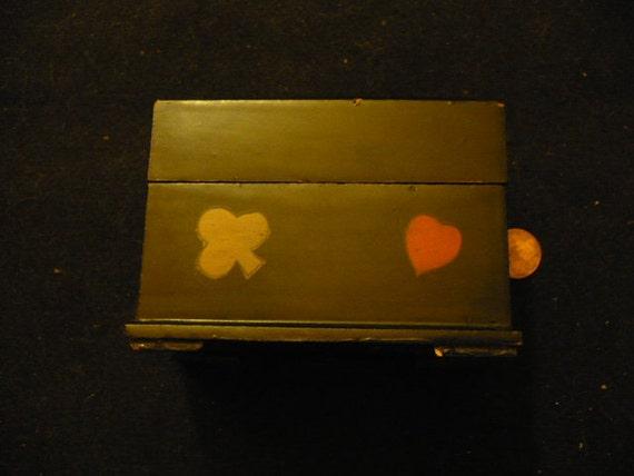 Vintage Playing Card Box Vintage Playing Card Box