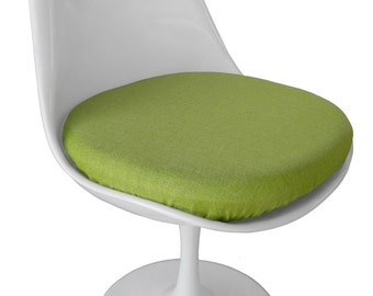 Slip-on Cushion Cover for Saarinen Tulip Side Chair - Poly Linen