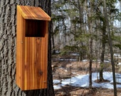 "Screech-Owl Nesting Box, ""Slot Entrance"" - by HOOT"