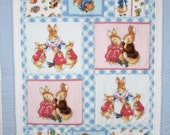 Quilts - Beatrix Potter Cot Quilt