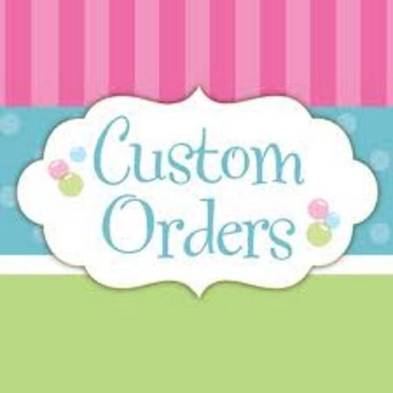 2 pcs cat custom order