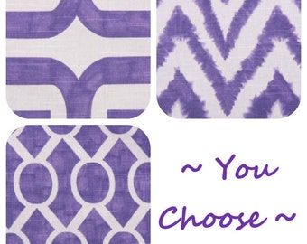 You choose Purple pillow cover One cushion cover decorative throw pillow in Thistle pillow sham
