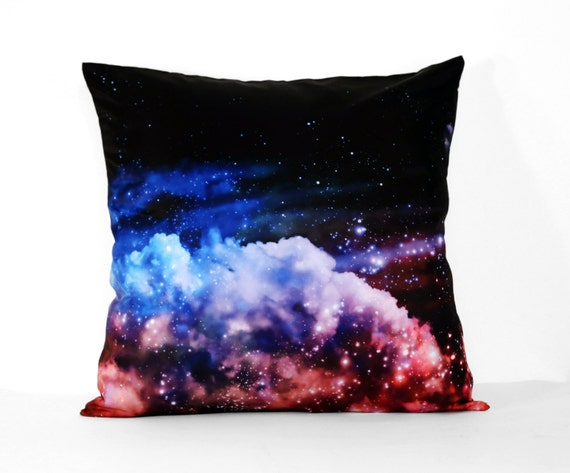 Scandinavian Pillow Case : Items similar to Northern Lights. Pillow Cover. Aurora Borealis. Modern bedding. Scandinavian ...