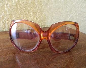 """1960 Vintage french """"Glasses Yves St Laurent"""""""