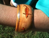 Wooden Fish Bracelet