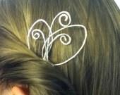 Silver Fairy Hair Pin