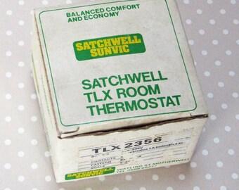 Vintage Retro Boxed Unused Satchwell Room Thermostat - Kath