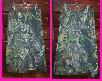 Custom Camouflage  Skirt