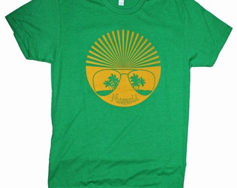 Men's Retro Hawaii Sun Shades T-shirt