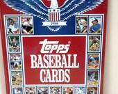 Topps 1988 Baseball Card Book , Hard Cover
